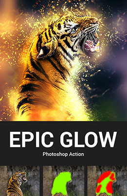 Epic Glow Photoshop Special Effects