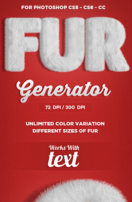 Fur Generator Photoshop Special Effects