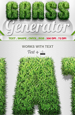 Grass Generator Photoshop Special Effects