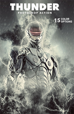 Thunder Photoshop Special Effects
