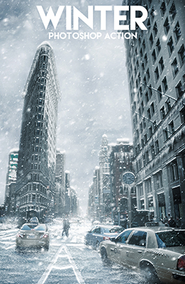 Winter Photoshop Special Effects