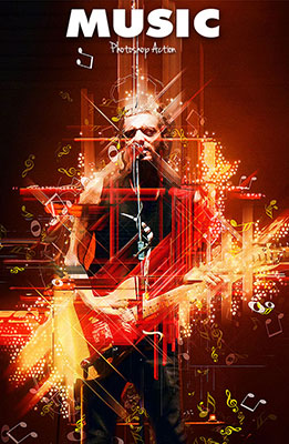 Music Photoshop Special Effects Image