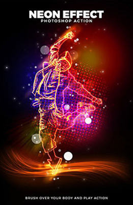 Neon Effect Photoshop Special Effects Image