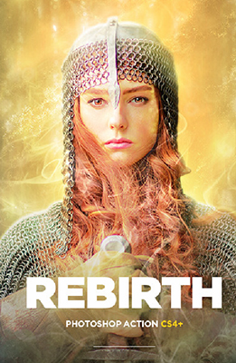 Rebirth Photoshop Special Effects Image