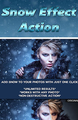 Snow Effect Photoshop Special Effects Image
