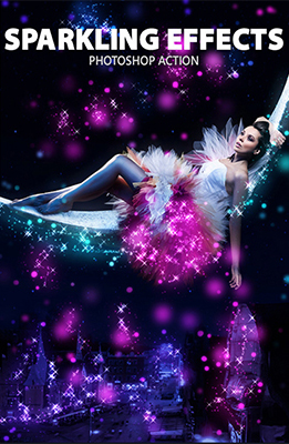 Sparkling Photoshop Special Effects Image