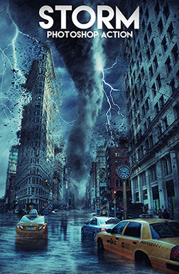 Storm Photoshop Special Effects Image