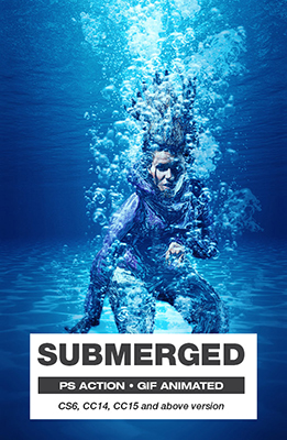 Submerged Photoshop Special Effects Image