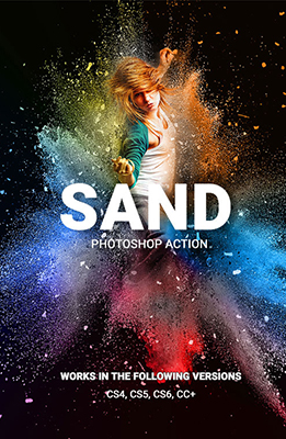 sand Photoshop Special Effects Image