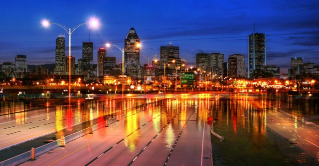 Montreal City Urban Montage 04 - Stock Photography