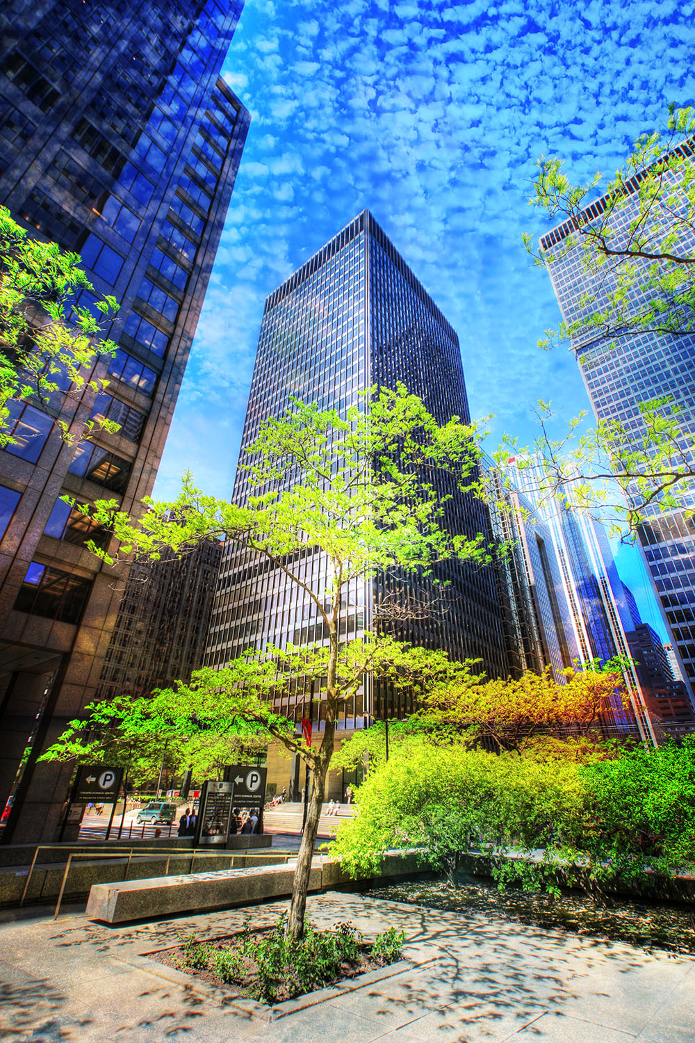 Office District - Stock Photography