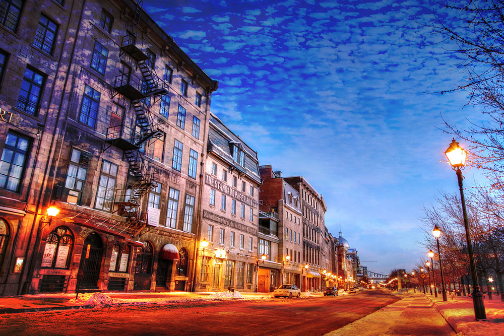 Old Montreal City 01 - Stock Photography