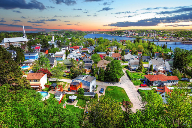 Saguenay City - Stock Photography