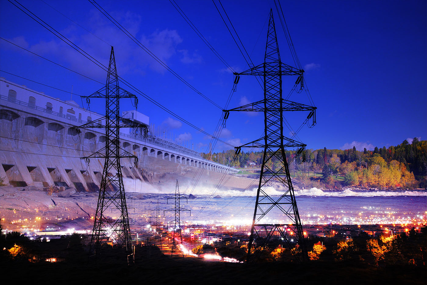Electric Dam 01 - Stock Photography