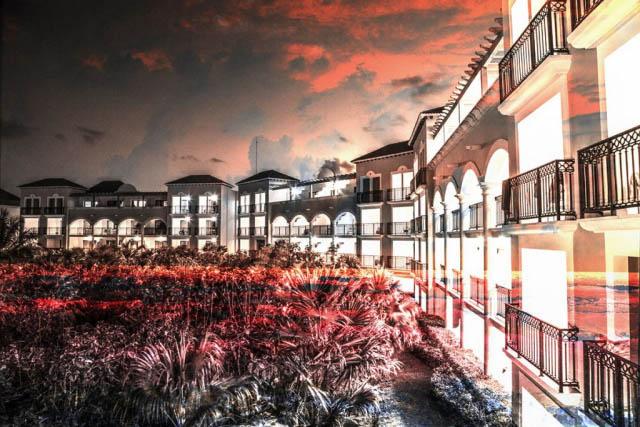 Hotel Resort Photo Montage 02 - Stock Photography