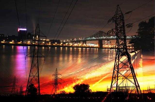 Urban Electrification - Stock Photography