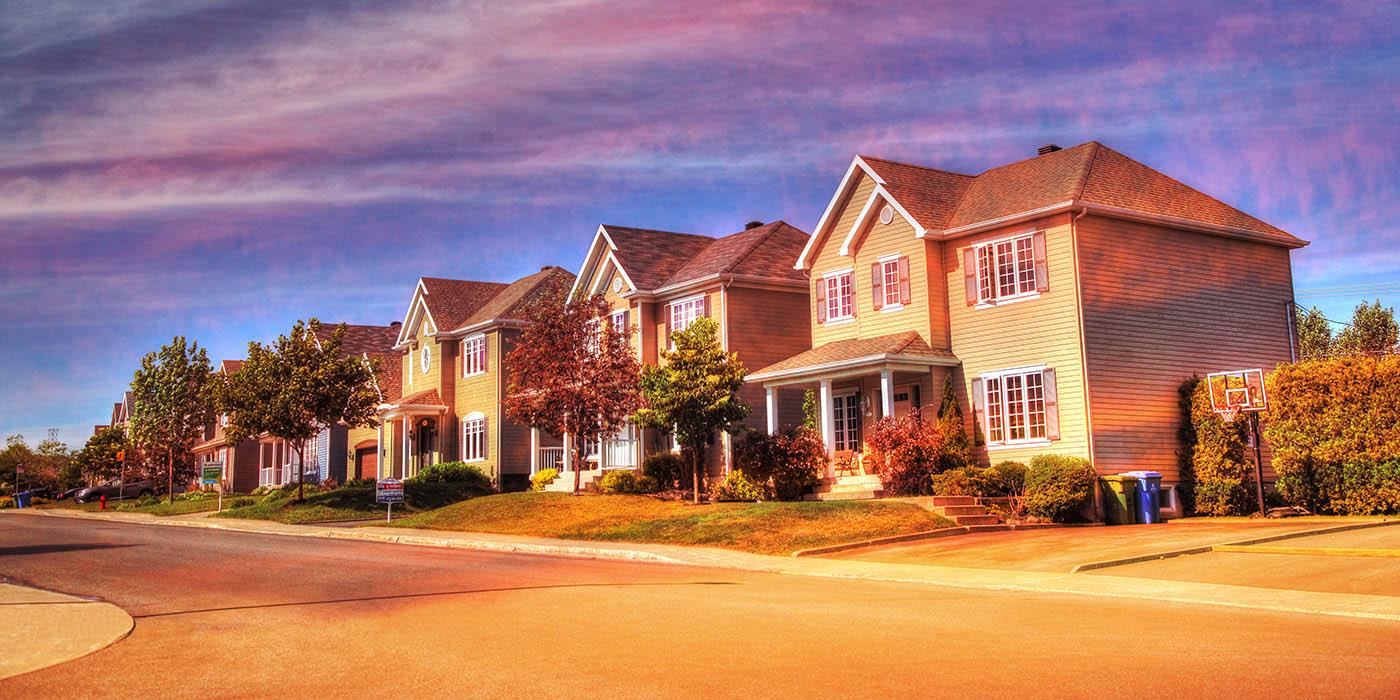 Cozy Neighborhood 02 - Stock Photography