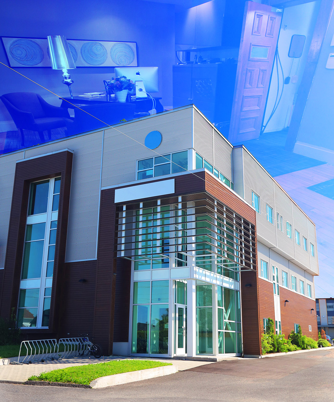 Modern Office Building - Stock Photography