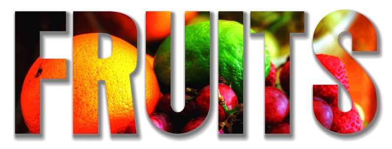 Fruits Text 1