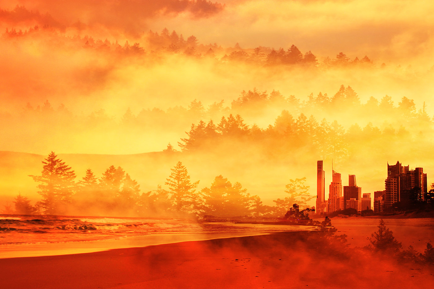 Colorful Apocalyptic Imagery 05 - Stock Photography