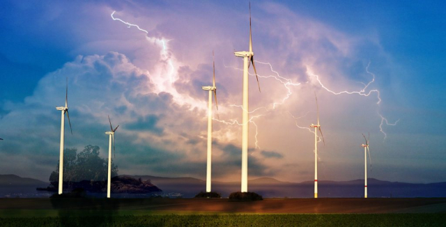 Windmill Energy Production 01 - Stock Photography