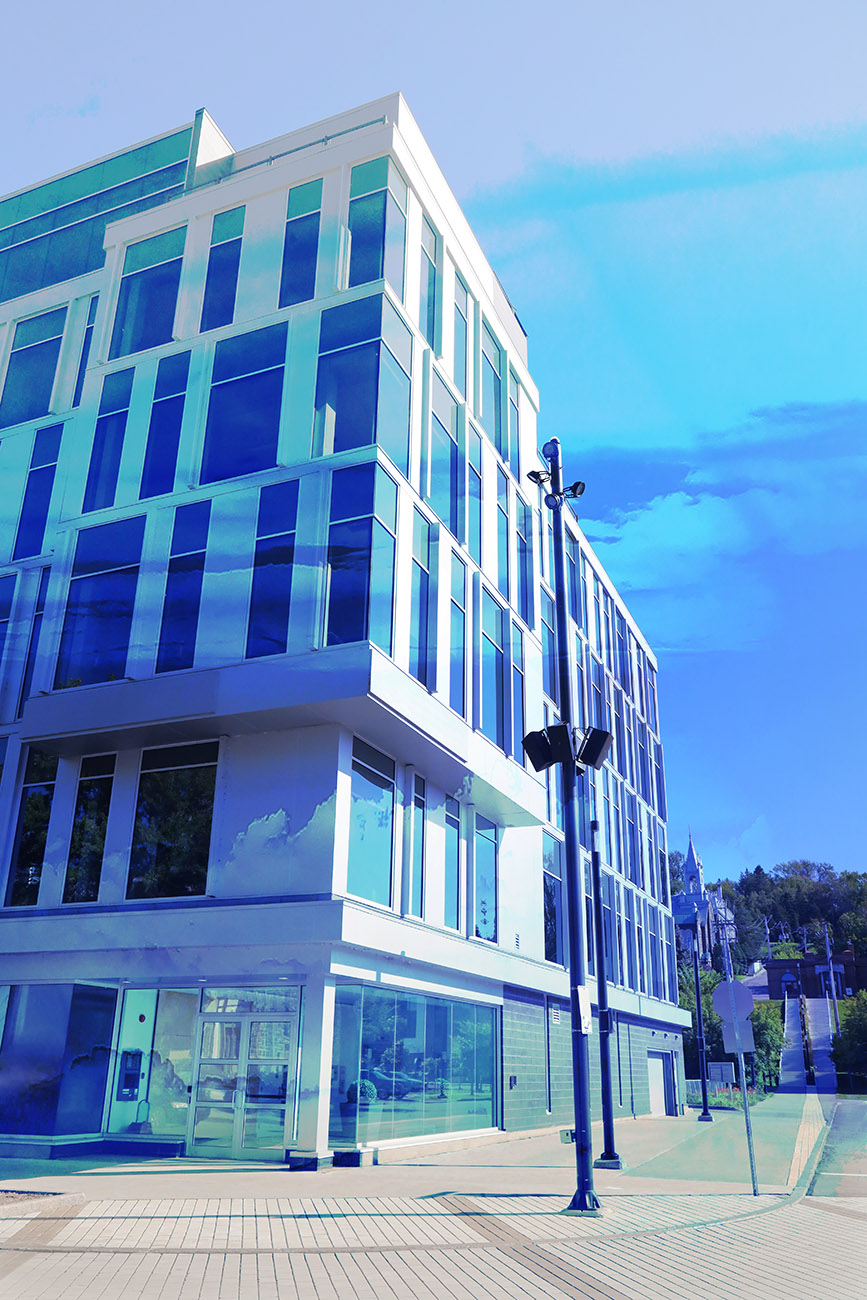Street Corner Office Building 01 - Stock Photography