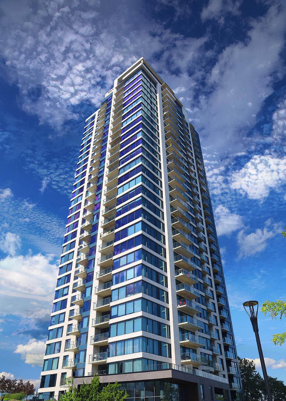Modern Apartment Building Design
